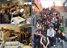 Alumnat d'IES visiten l'ETSETB i el Laboratori iLabRS