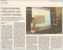 El País publica un reportatge sobre iLabRS
