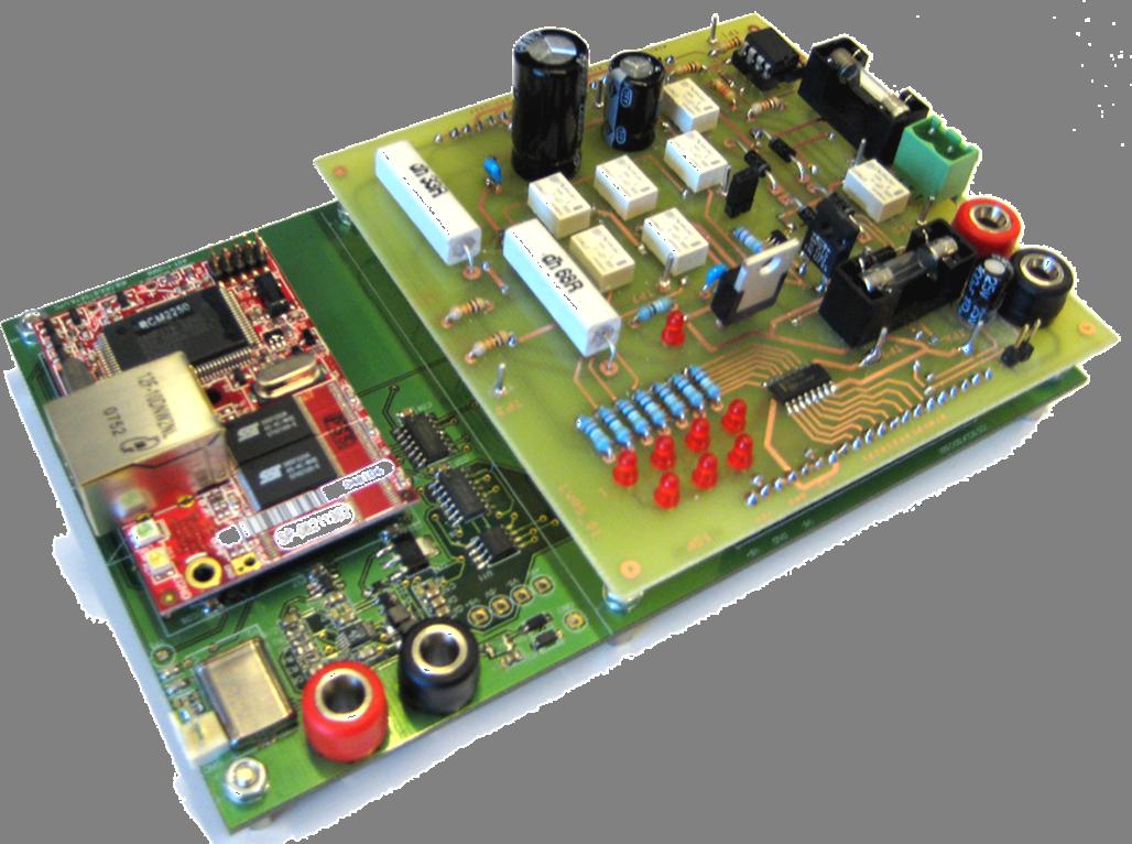iLabRS. Placa d'experimentació LVRS-02.
