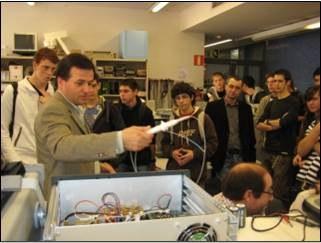 iLabRS. Visita de l'ETSETB i del Laboratori Remot (3).