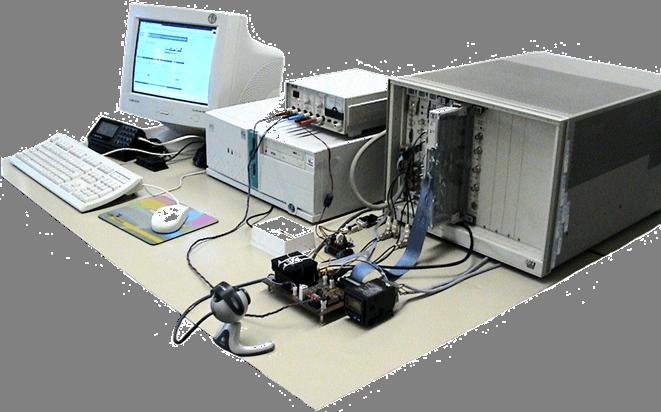 VirtuaLab. Fotografia de l'equip del sistema.